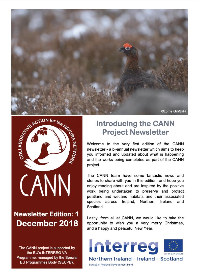 CANN Newsletter #1