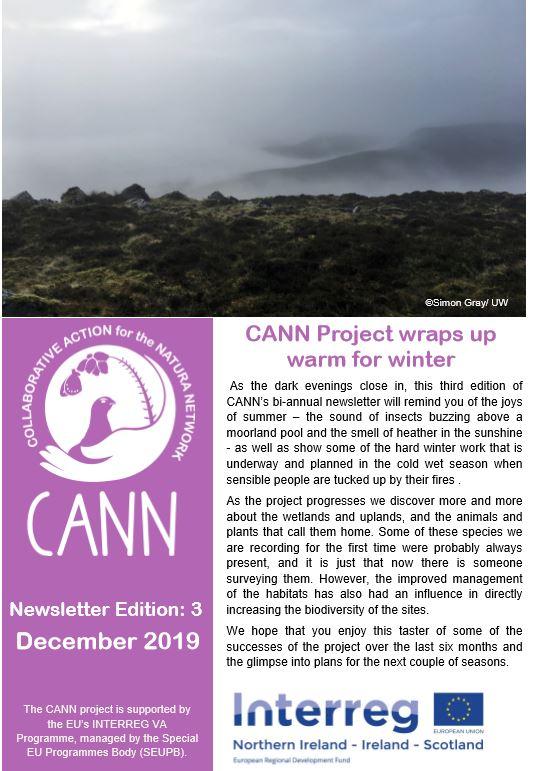 CANN newsletter #3 Winter 2019