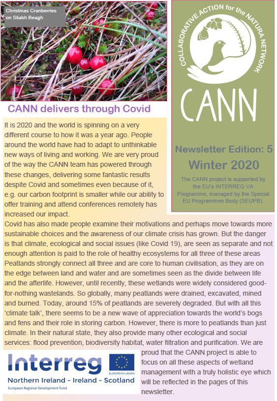CANN Newsletter #5 Winter 2020